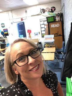 Stacey Dallas Johnston has been teaching in the Clark County School District in Las Vegas