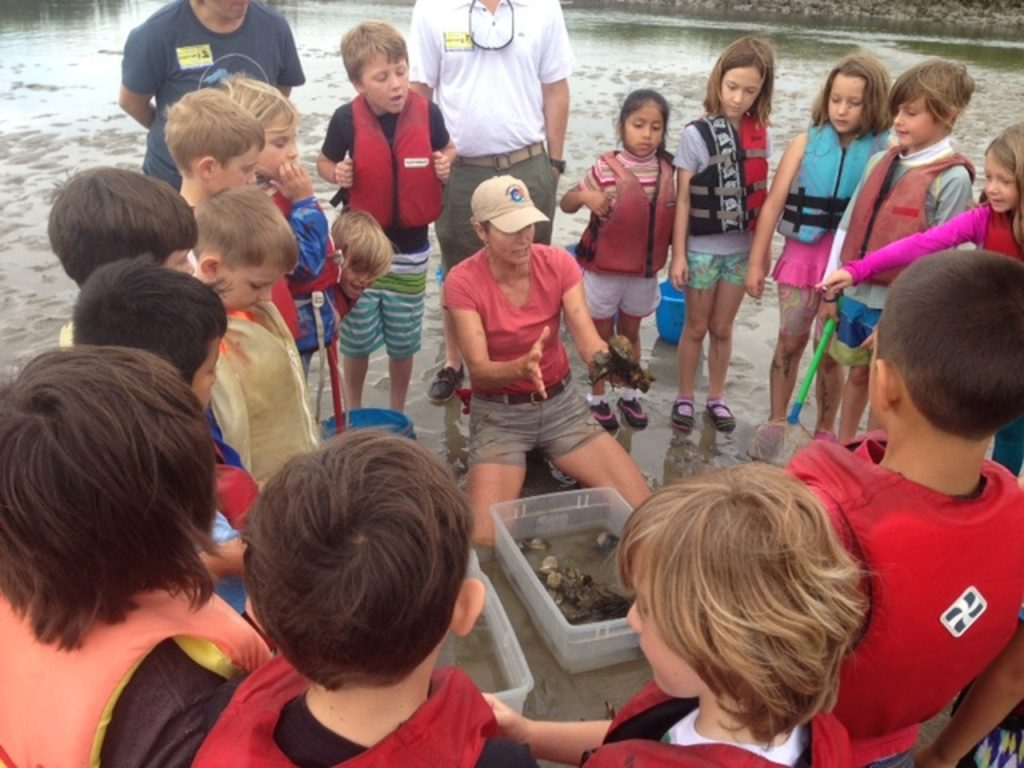 As part of its marine and environmental sciences program, Wrightsville Beach Elementary School students participate in hands-on learning about their local ecosystem.